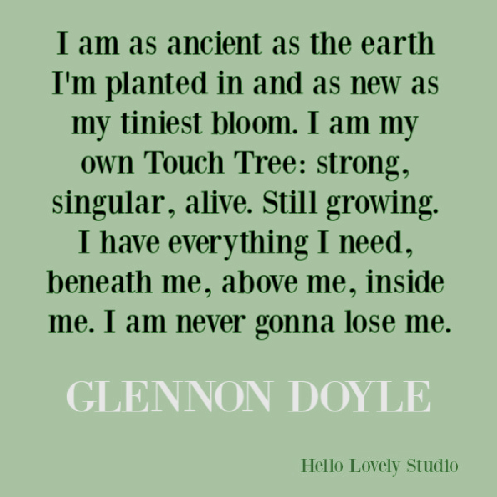 "Glennon Doyle quote from ""Untamed."" #glennondoyle #memoirquotes #untamed #feminism #selfacceptance #personalgrowth #spiritualjourney"