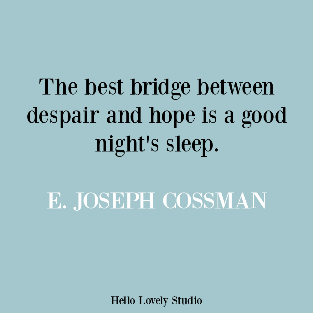 Hope quote on Hello Lovely by E. Joseph Cossman. #hopequotes