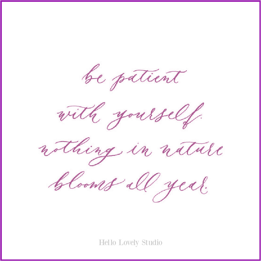 Inspirational quote on Hello Lovely. #givingquote #quotes