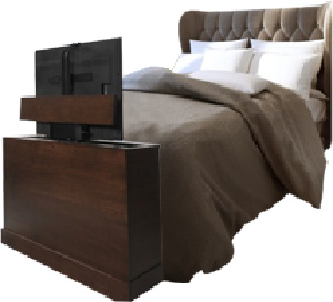Hide your TV in a beautiful cabinet by TVLiftCabinet.com. #televisions #tvcabinet #tvliftcabinet #tvlift #liftmechanism