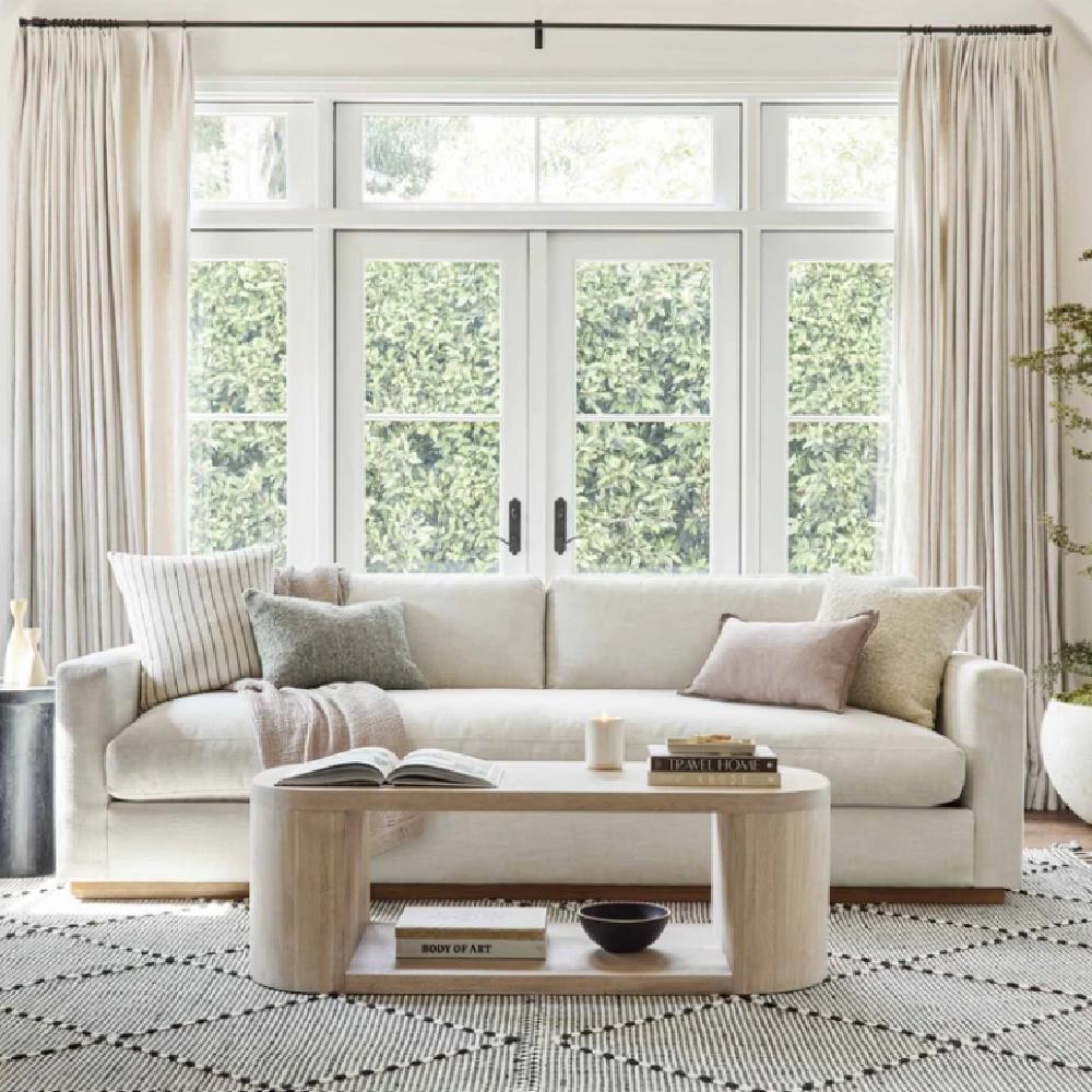 Walden sofa in a beautiful living room - Lulu & Georgia. #waldensofa #sofas #livingroomfurniture