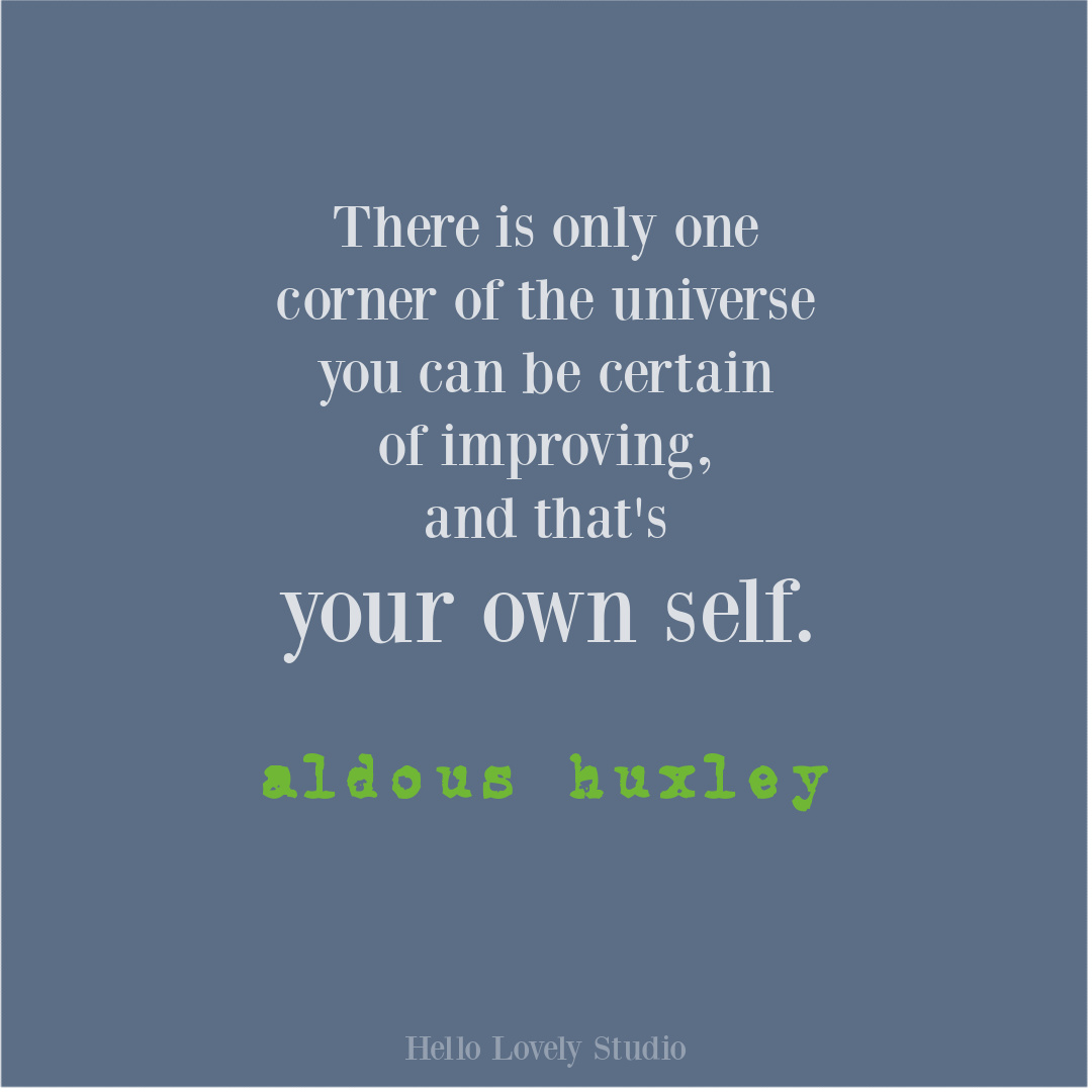 Universe quote on Hello Lovely by Aldous Huxley. #aldoushuxley #universequotes #wisdomquotes