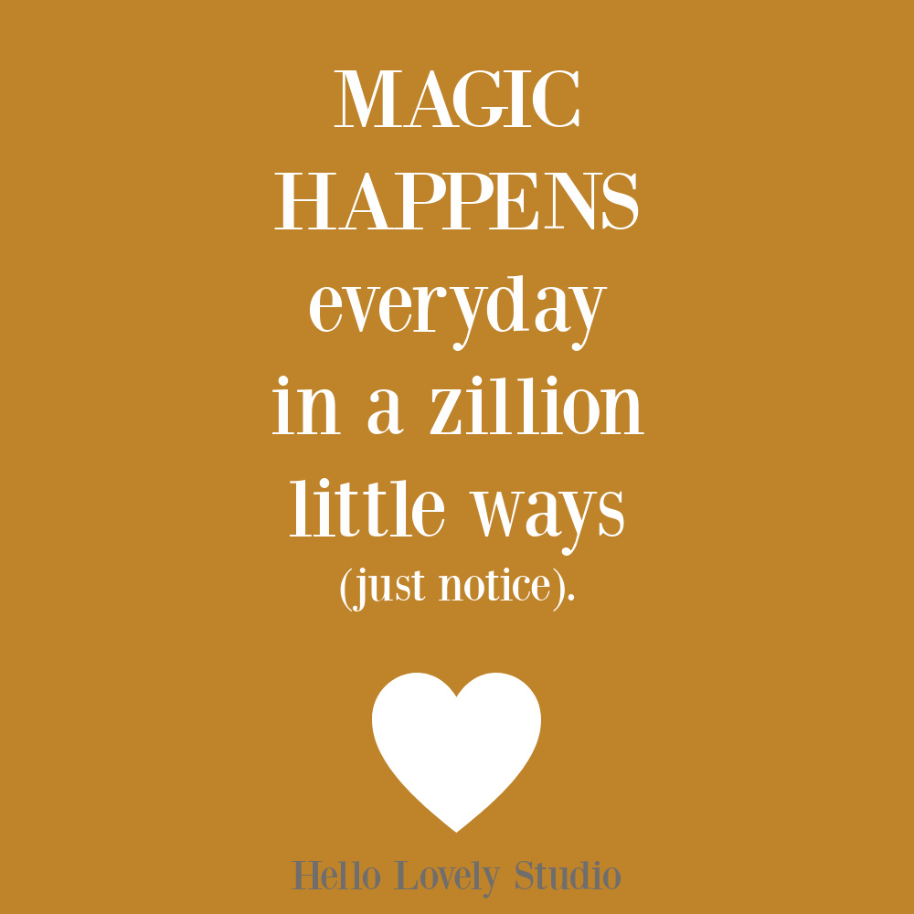 Magic quote on Hello Lovely. #magicquotes #encouragementquotes #lifequotes