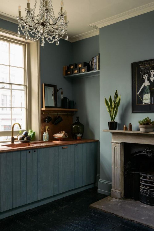 deVOL kitchen design - St. John's Townhouse - English country style. Come explore Dark Green Paint, Autumnal Greens & Interior Design Inspiration!