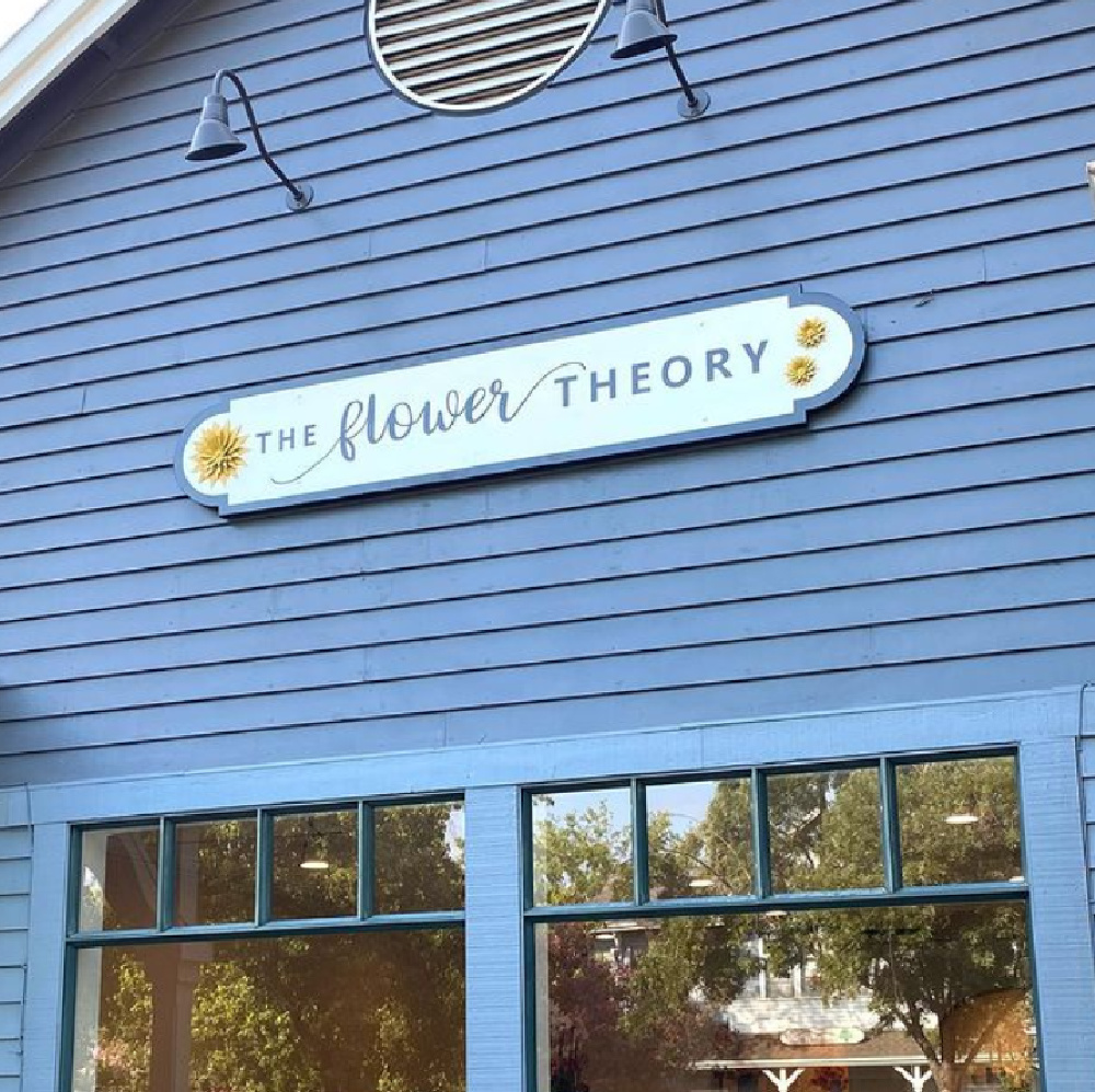 The Flower Theory exterior.