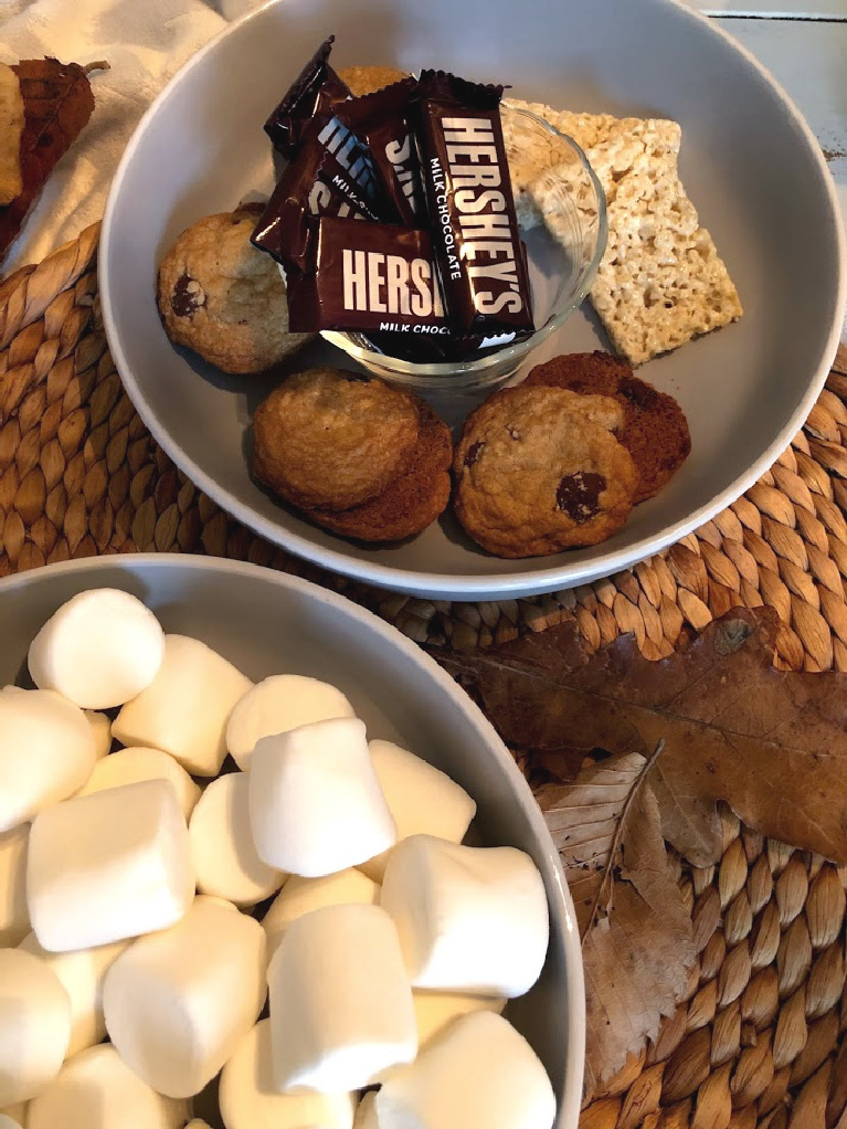 S'more fixins when you skip the graham crackers and go gluten free!