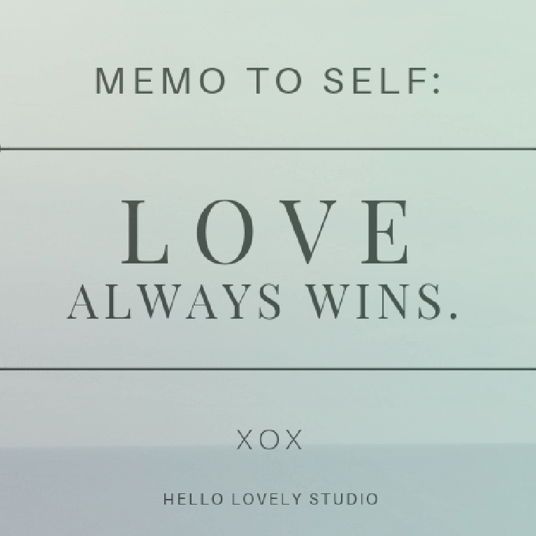 Inspirational love quote on Hello Lovely Studio. #quotes #lovequotes