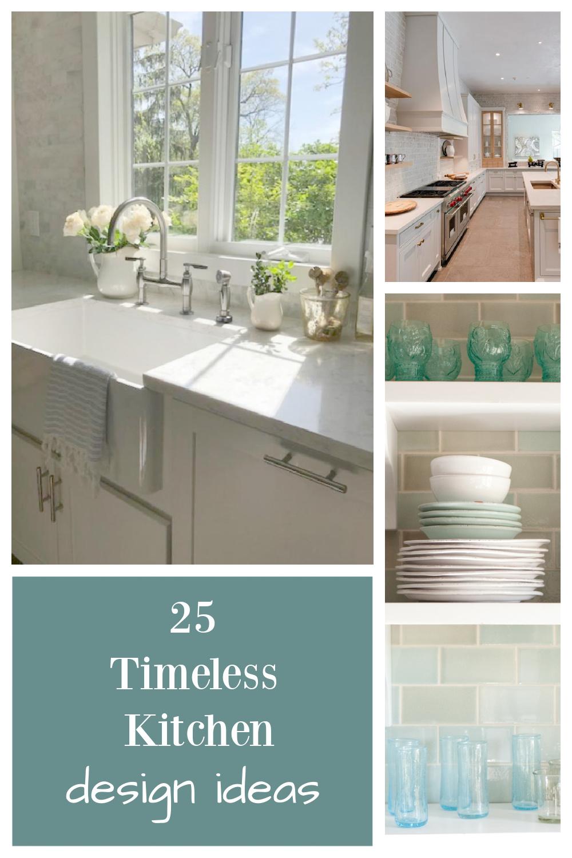 25 timeless kitchen design ideas on Hello Lovely Studio. #kitchendesign #timelessdesign #whitekitchens