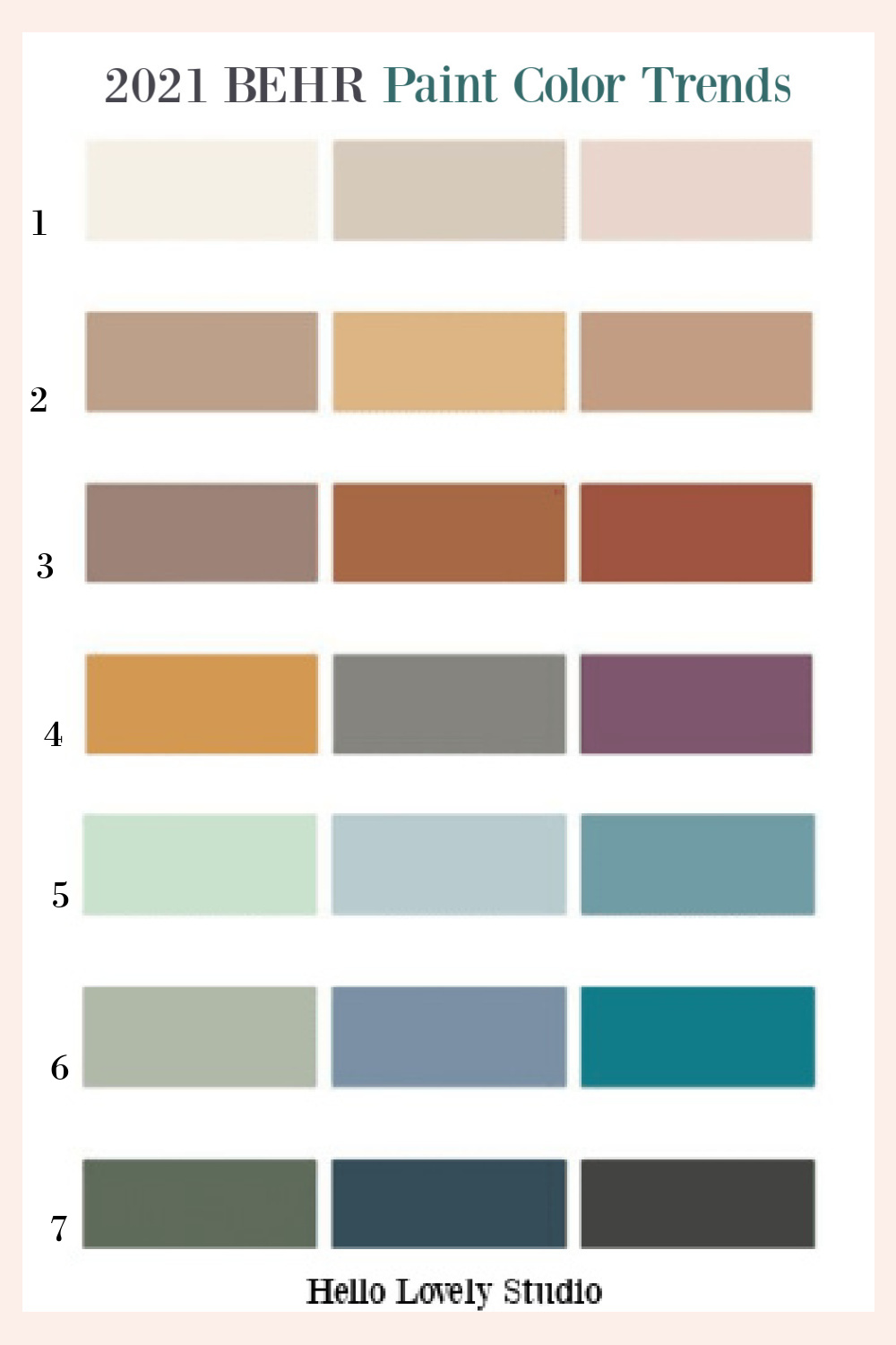 Behr paint color trends for 2021 - try these gorgeous colors in your own home. Discover inspiring understated neutrals to try in your own home. #paintcolors