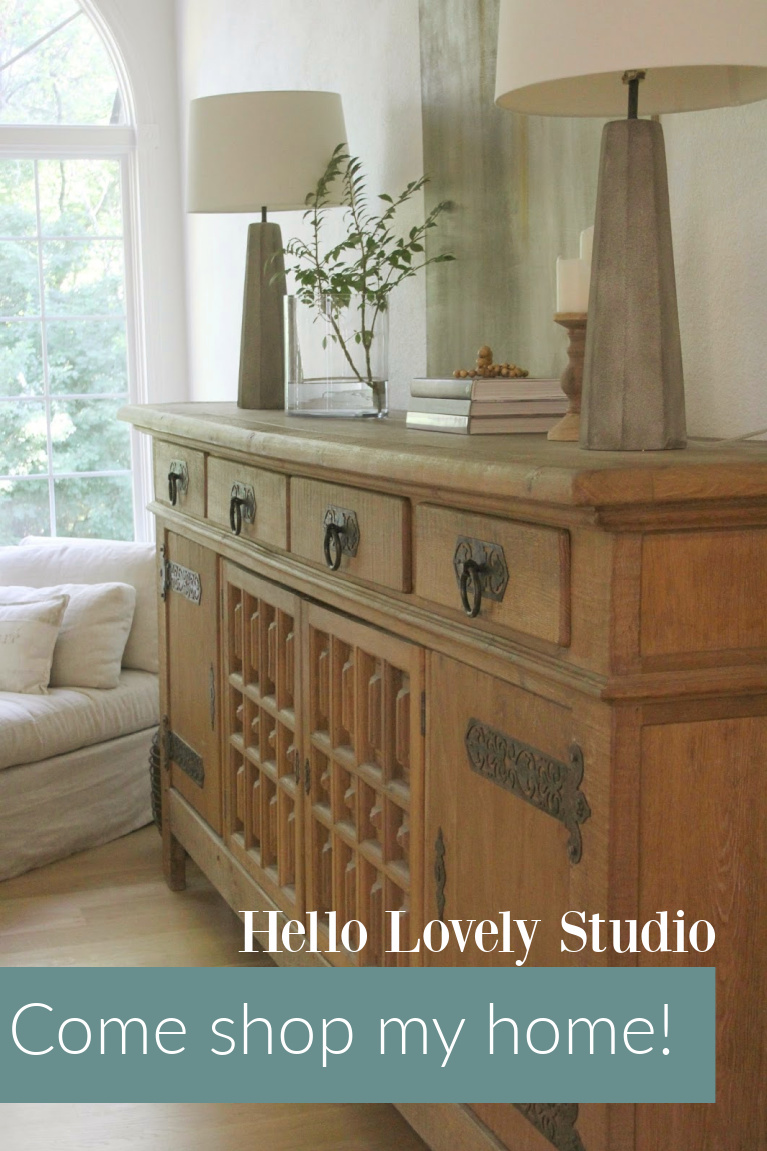 Come shop my home - Hello Lovely Studio. #getthelook #hellolovelystudio #europeancountry #modenrfrench
