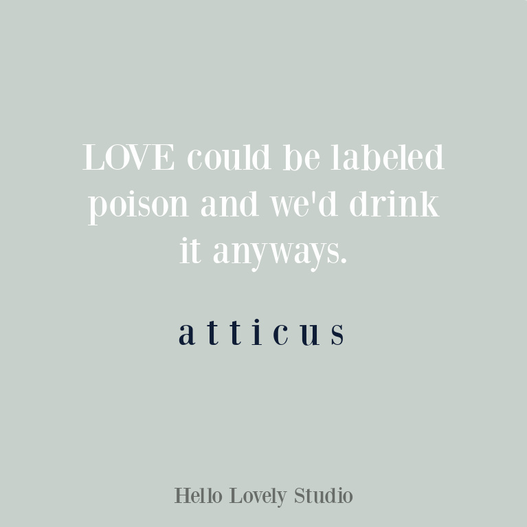 Atticus poem and quote about love. #lovequotes
