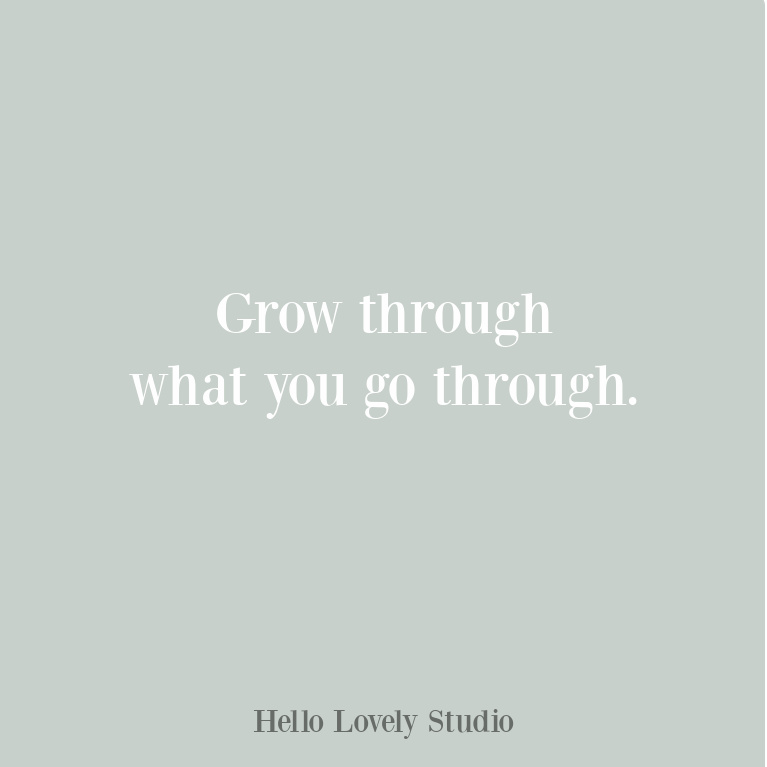 Personal growth quote on Hello Lovely Studio. #growthquotes #personalgrowth
