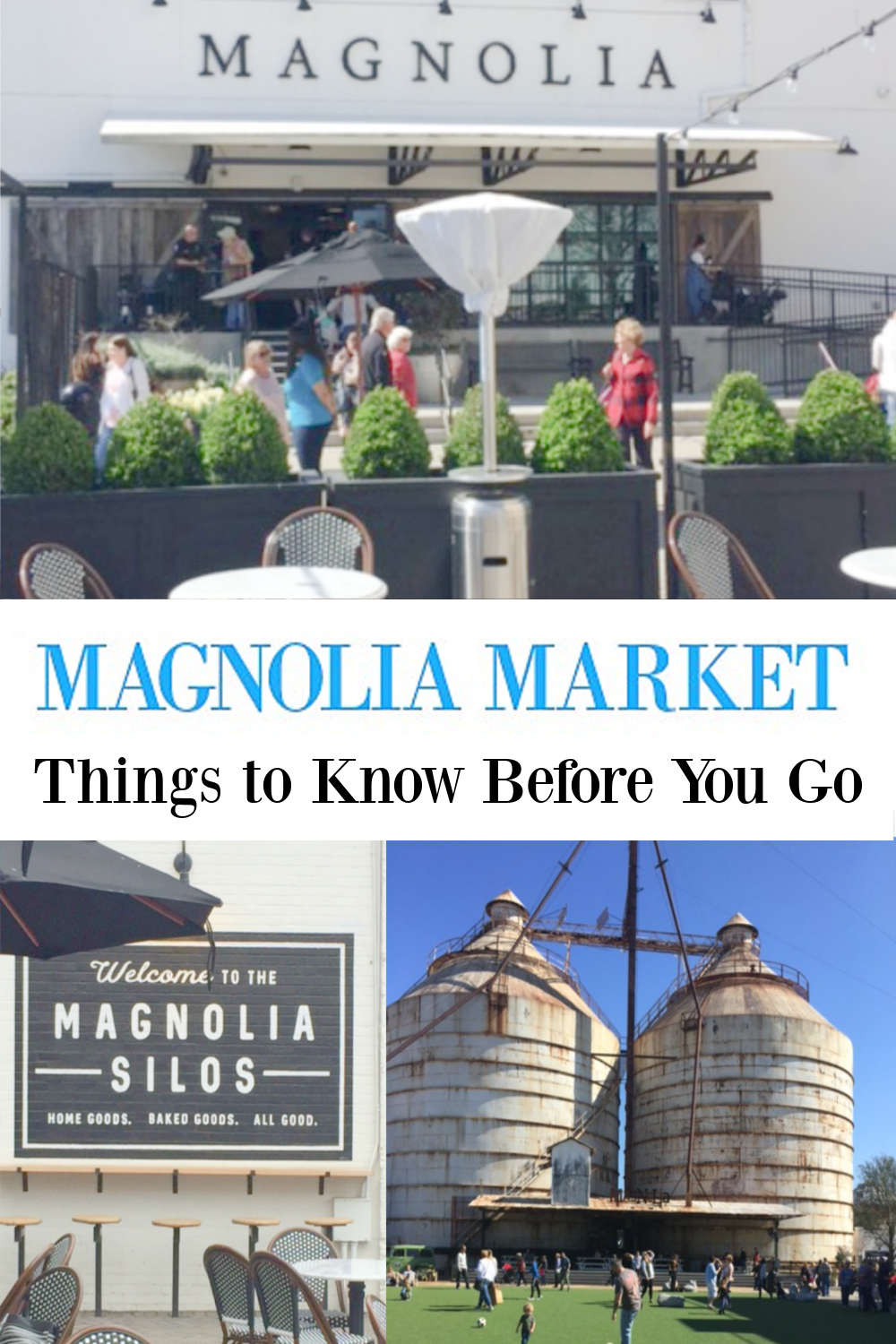 Planning a visit to Magnolia Market? Don't miss 22 Things to know before you go! #magnoliamarket #silos #waco