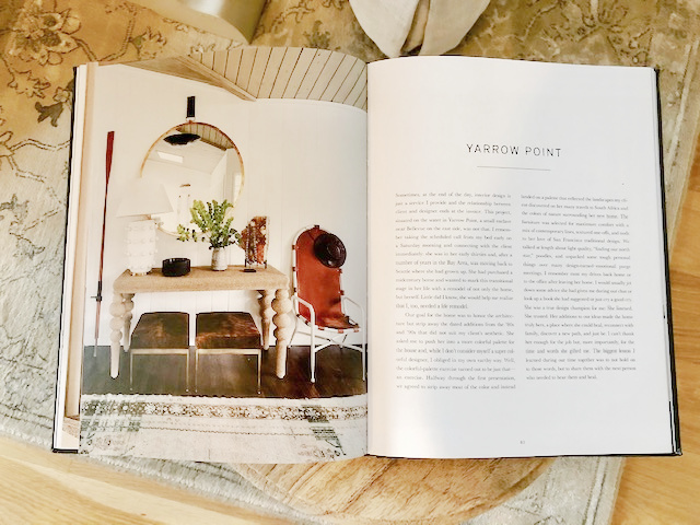 Interiors with classic, understated, artful design by Brian Paquette in AT HOME with photographs by Haris Kenjar (Gibbs Smith, 2021).