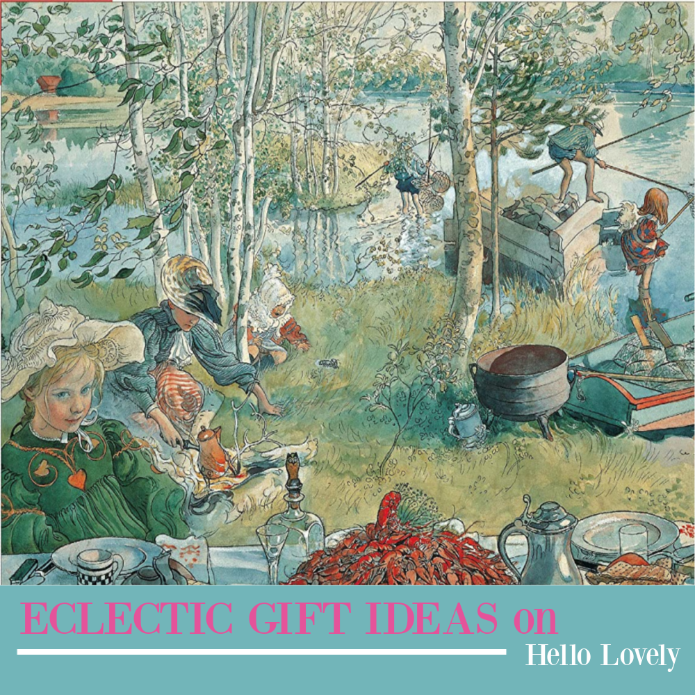 Eclectic gift ideas on Hello Lovely - come explore this unexpected varied collection.