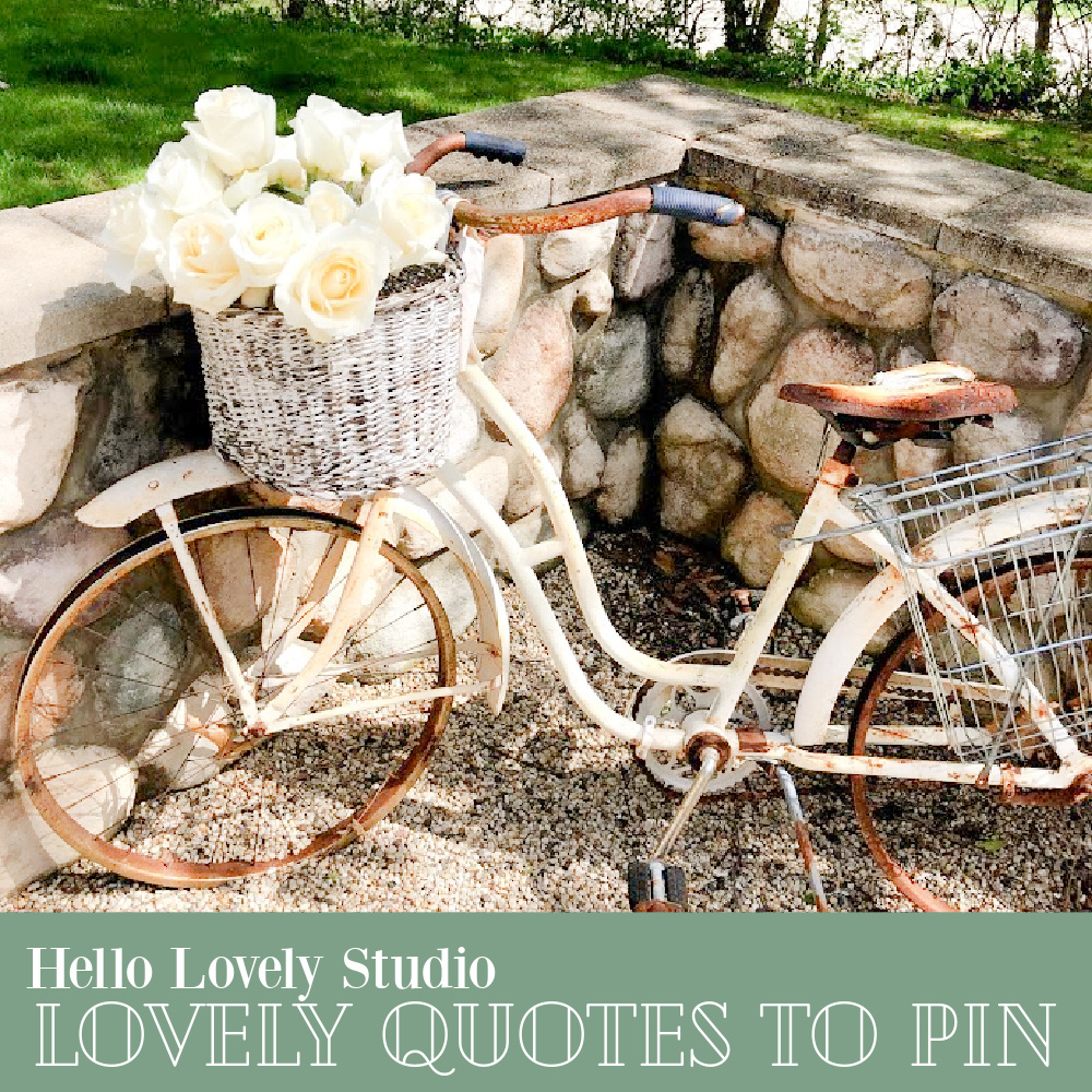 Hello Lovely Studio Lovely Quotes to Pain - come be inspired and find whimsy, wisdom, and wonder. #inspirationalquotes #wisdomquotes #whimsicalquotes