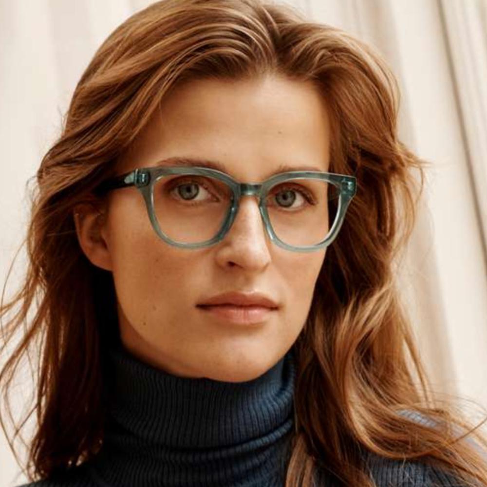 Warby Parker women's blue eyeglasses. #warbyparker #eyeglasses #blueglasses
