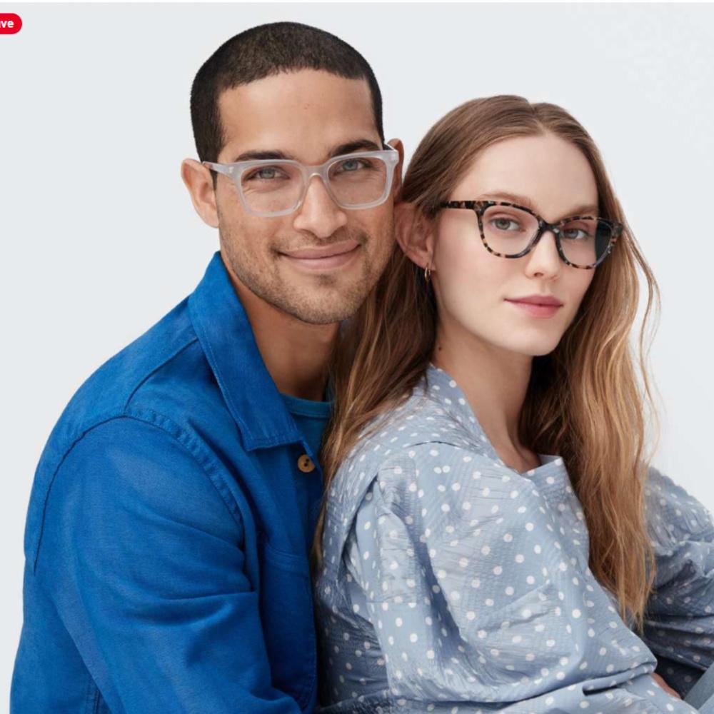 Warby Parker fashionable eyeglasses. #glasses #eyewear #warbyparker