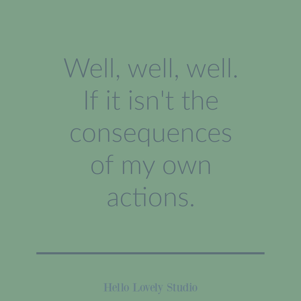Funny quote on imperfection on Hello Lovely. #funnyquotes #humorquotes