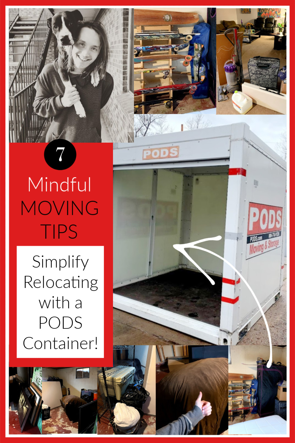 7 mindful moving tips to simplify relocating with a container - Hello Lovely .#podscontainer #movingtips #movinghacks #relocating