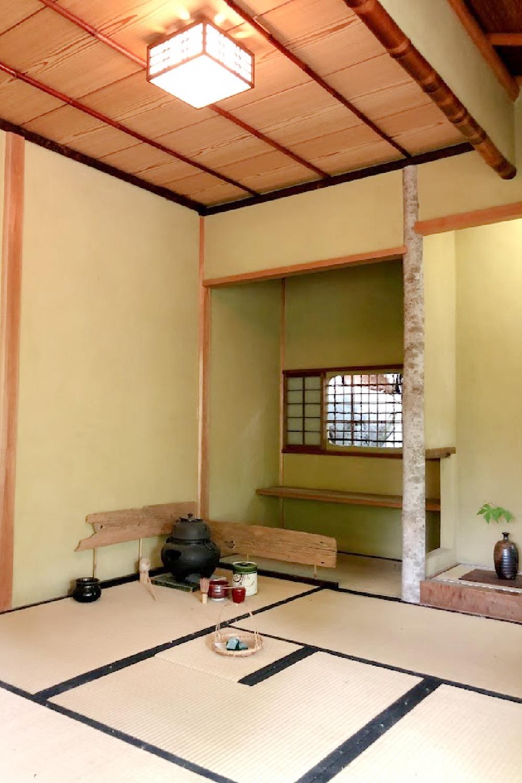 Interior of a tea house - Hello Lovely Studio.