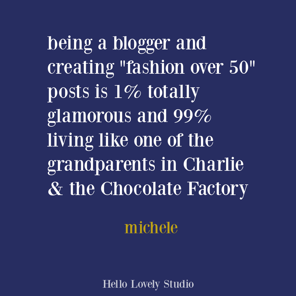 One off humor quote about blogging on Hello Lovely. #bloggerlife #humorquotes #influencers #humor