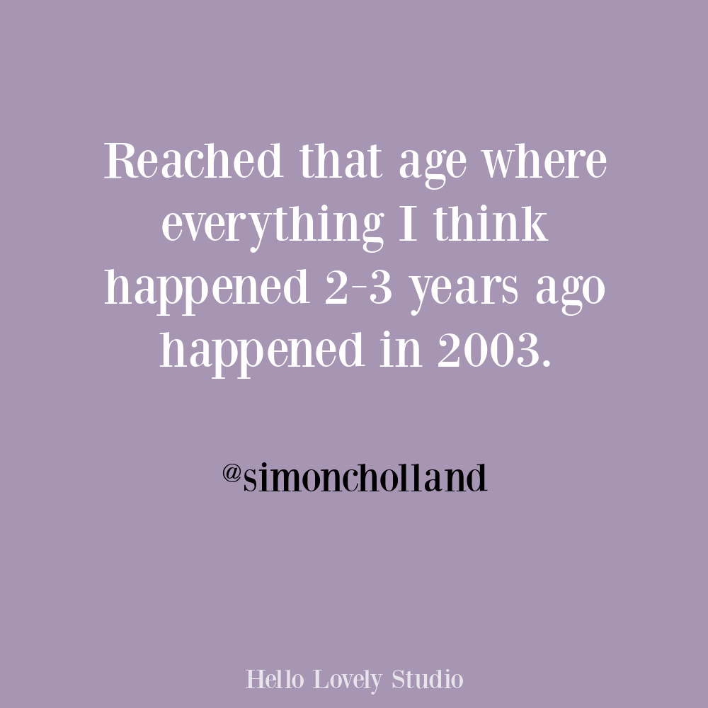 Midlife humor funny quote about memory on Hello Lovely. #funnytweets #midlifehumor #humorquotes