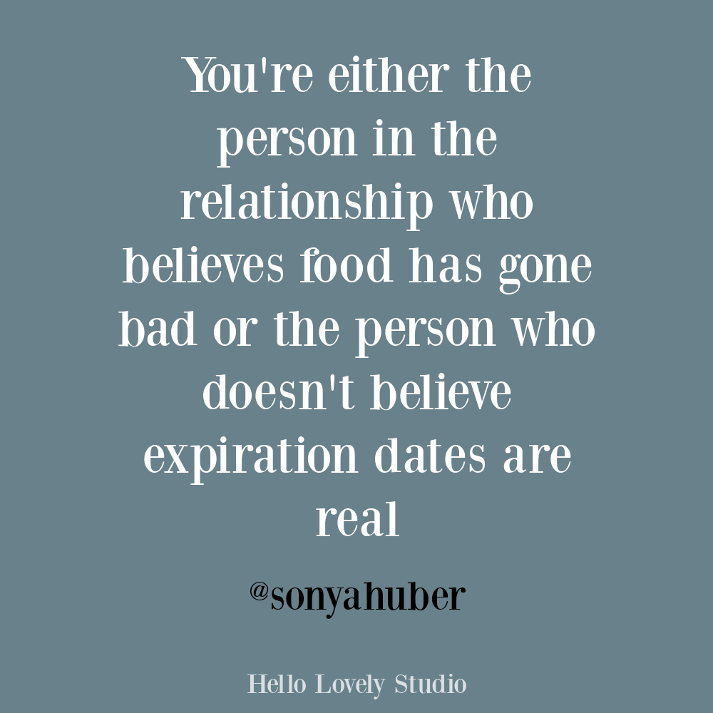 Funny humor quote about relationships and food on Hello Lovely. #funnyquotes #relationshipquotes #foodquotes