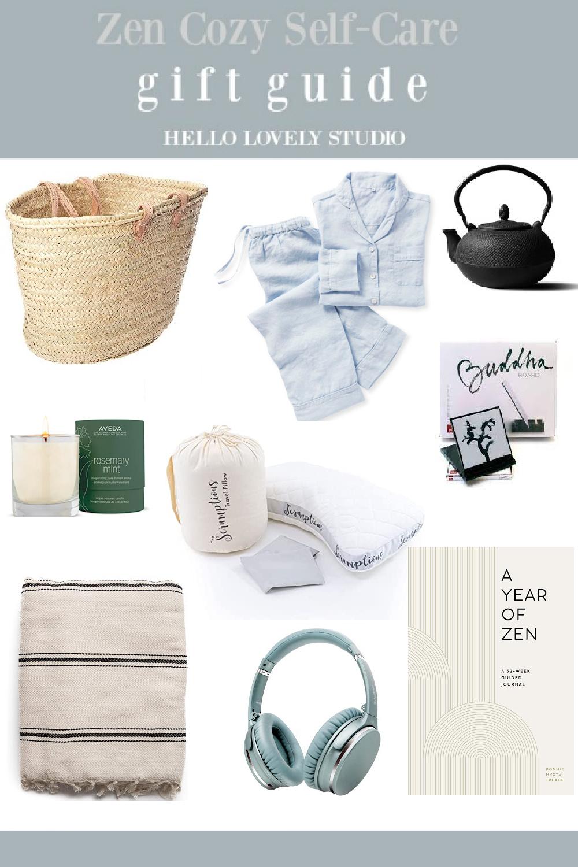 Zen Cozy Self-Care Gift Guide - Hello Lovely