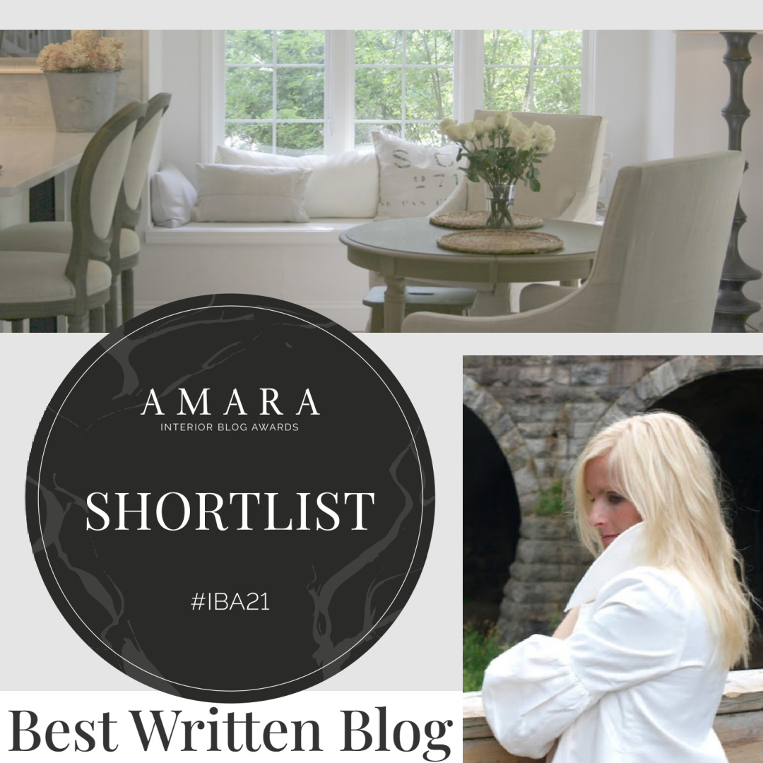 Please vote! Hello Lovely is on the shortlist for Best Written Blog for the AMARA Interior Blog Awards 2021! #blogawards