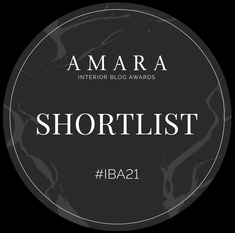 Amara Interior Blog Awards Shortlist